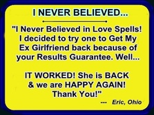 Return My Ex Lover Spells that Really Work